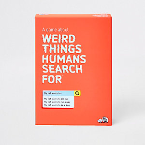 'Weird things humans search for' game