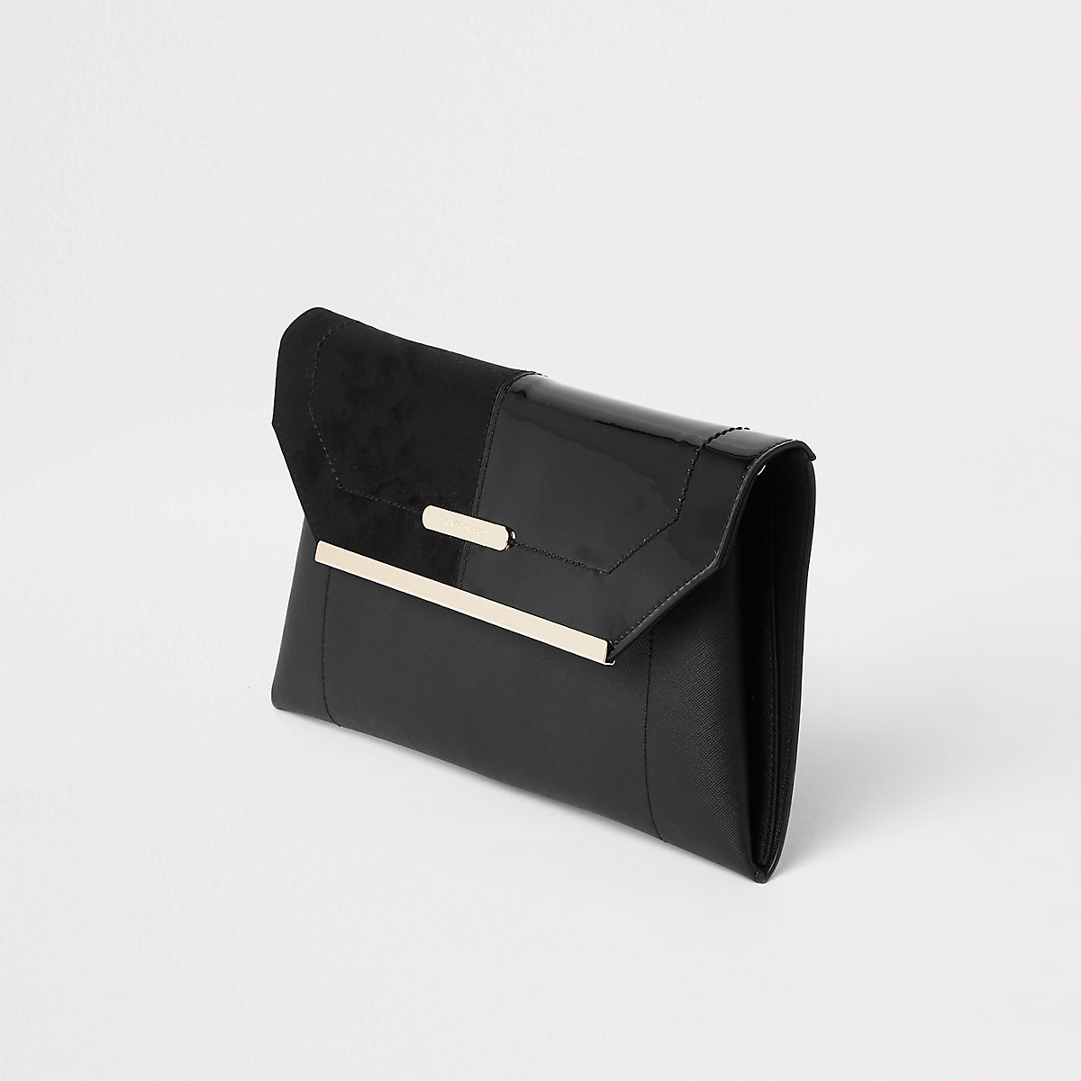 73fc6adb0f5c Black envelope clutch bag - Clutch Bags - Bags   Purses - women
