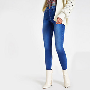 Molly – Hellblaue Jeggings