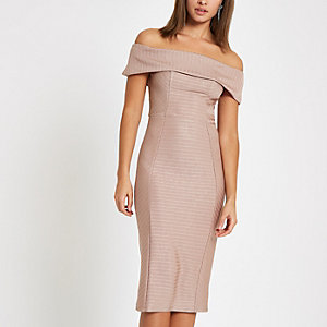 Bodycon-Kleid in Minilänge