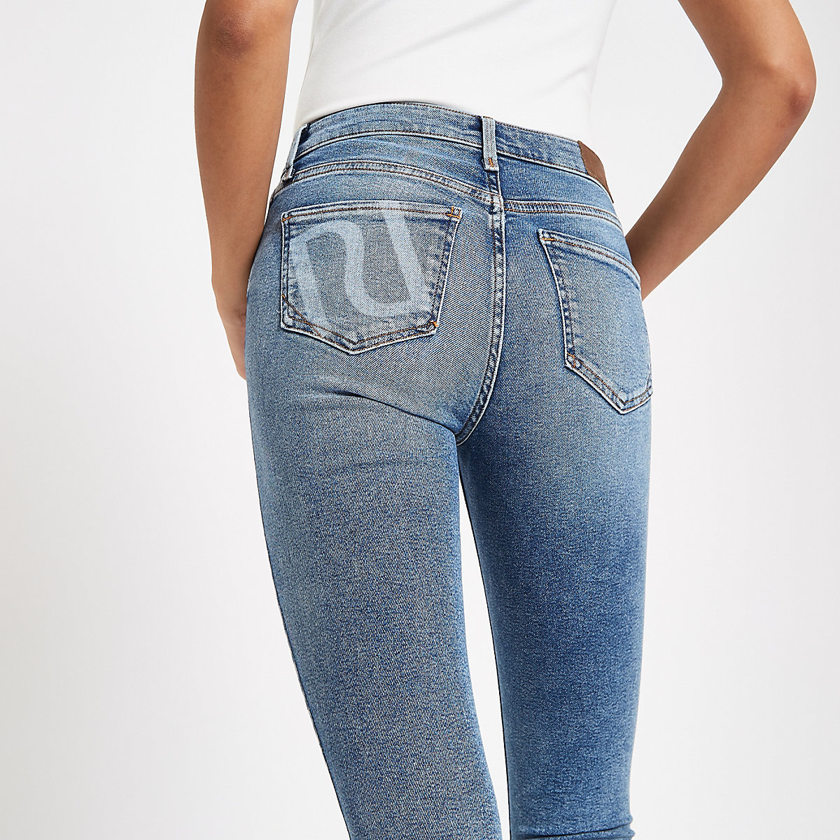 Light blue Amelie RI skinny jeans