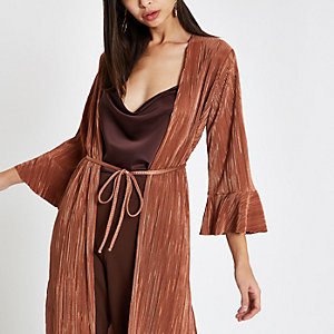 Pinke Kimono-Jacke