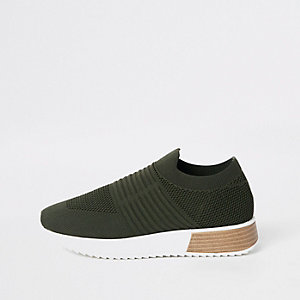 Sneakers in Khaki