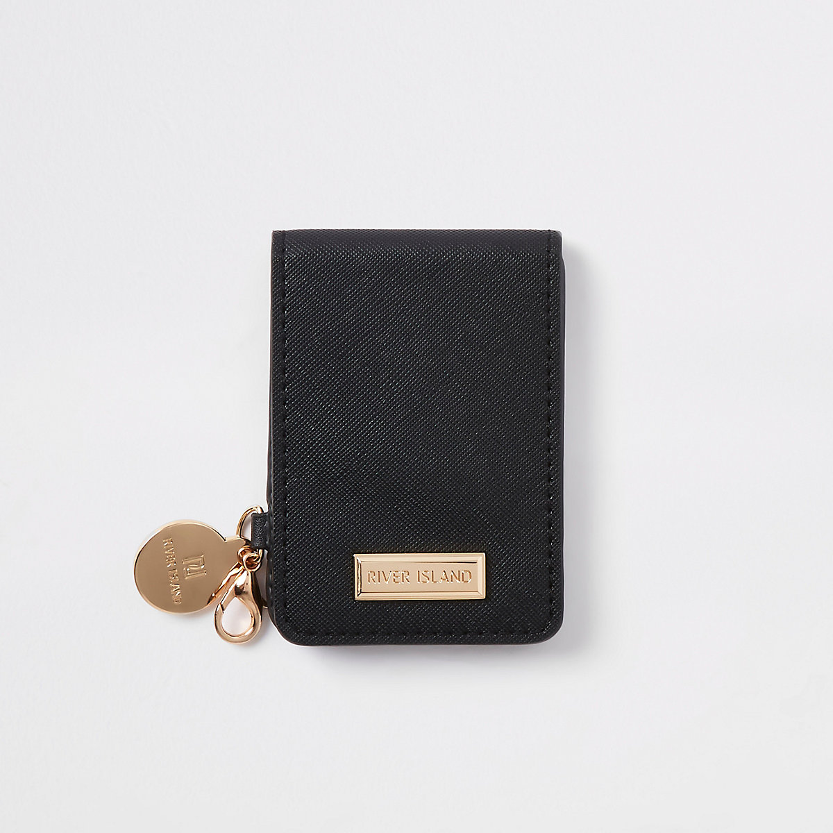 Black fold out compact mirror