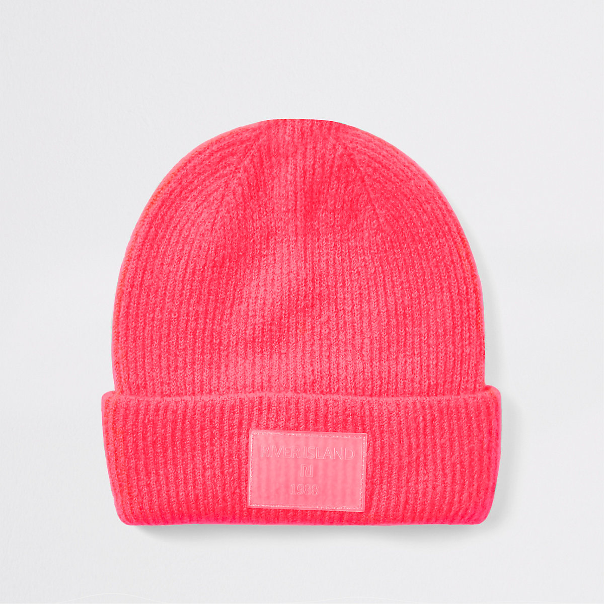 Bright pink beanie hat - Hats - Accessories - women 4a8fa6f0986