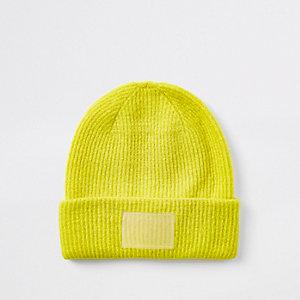 Bonnet jaune vif