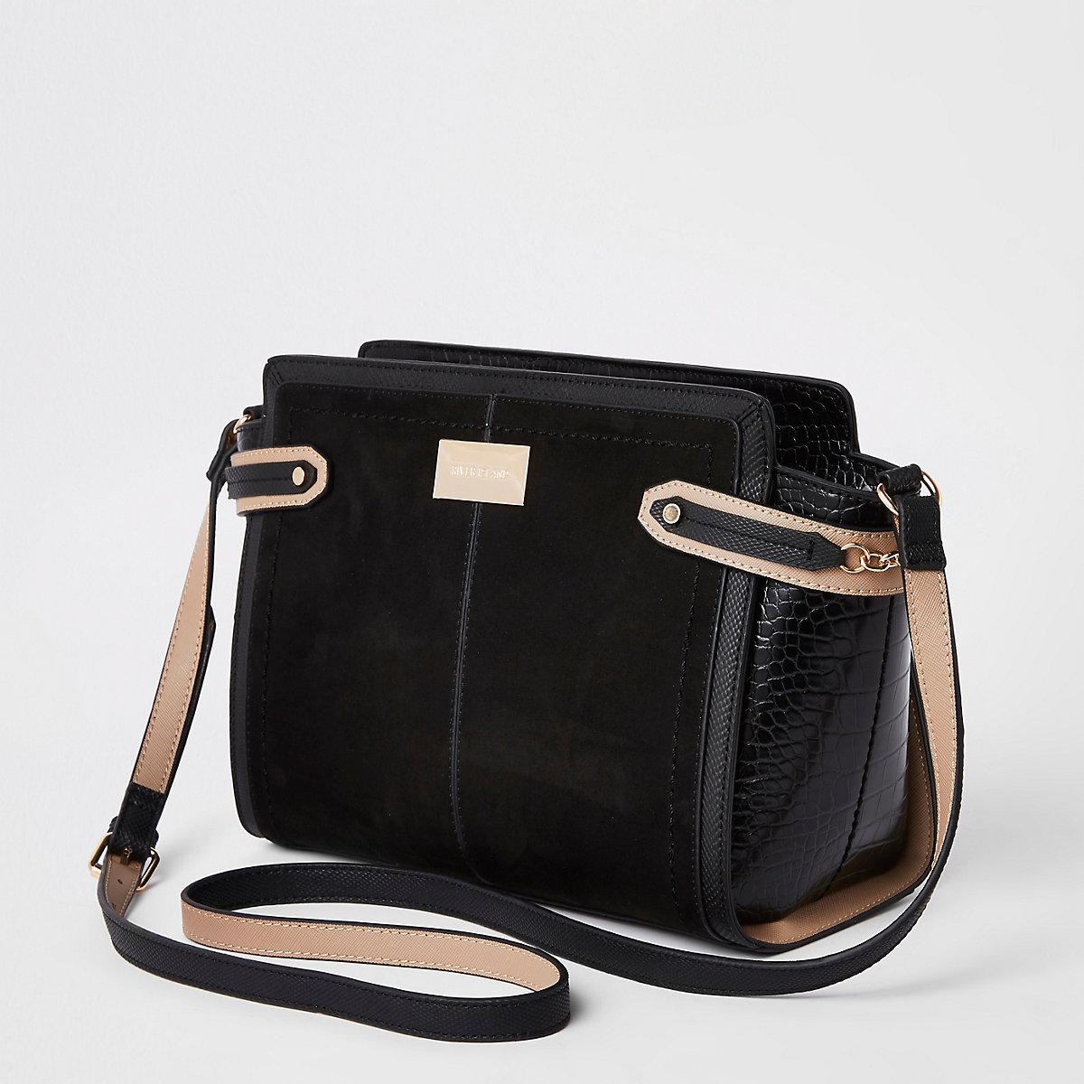 ffa7c5b52ade Home · Women · Bags   purses  Black tab side cross body bag. Black tab side  cross body bag Black tab side cross body bag ...
