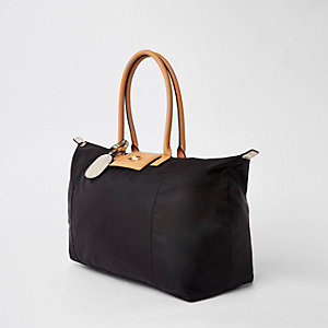 Black soft RI weekend travel bag
