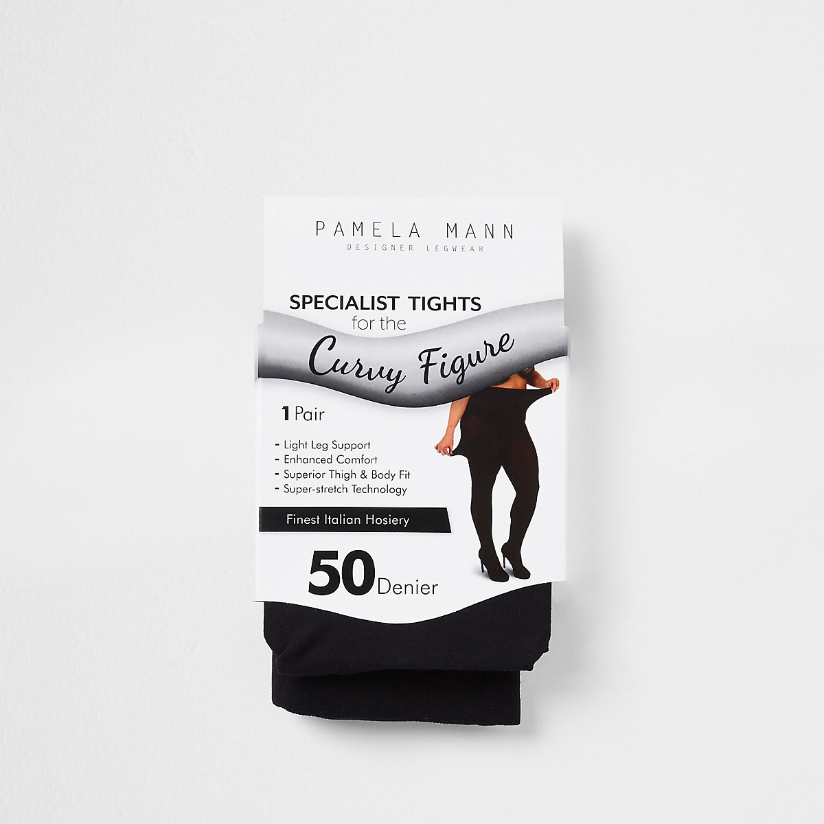 3447e4fb8bc Black 50 denier plus size tights - Tights   Socks - women