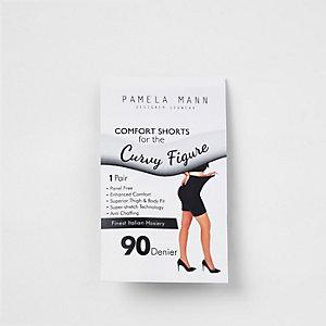 Black 90 dernier anti chaffing shorts