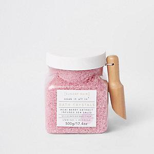 Sunday Rain berry infused bath salts