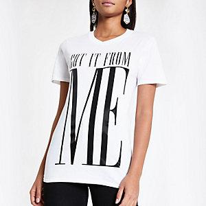 'Got it from me' boyfriend twinning T-shirt