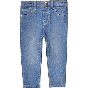 Jean skinny bleu mini fille