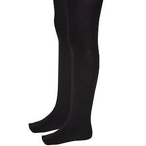 Girls black tights multipack