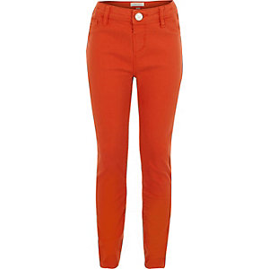Girls red Molly jeggings
