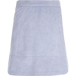 Girls lilac A-line skirt