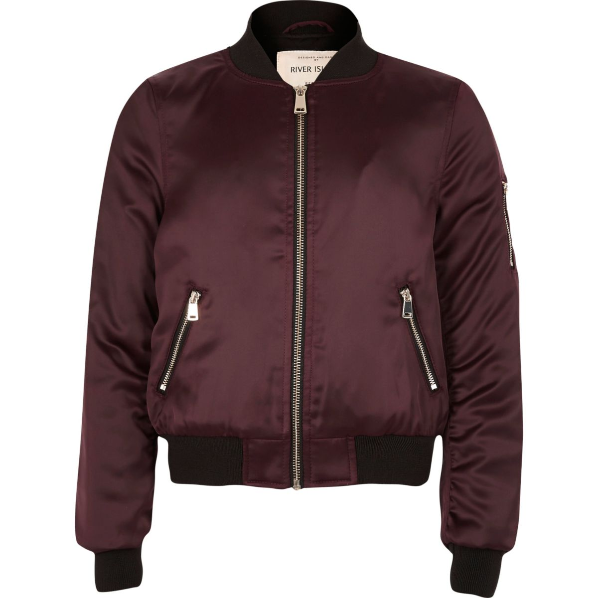 Product Description Let her own her cold weather look with this cool bomber jacket.