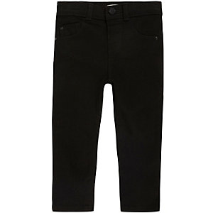 Mini girls black skinny jeans