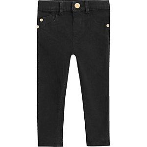 Mini girls black skinny jeans