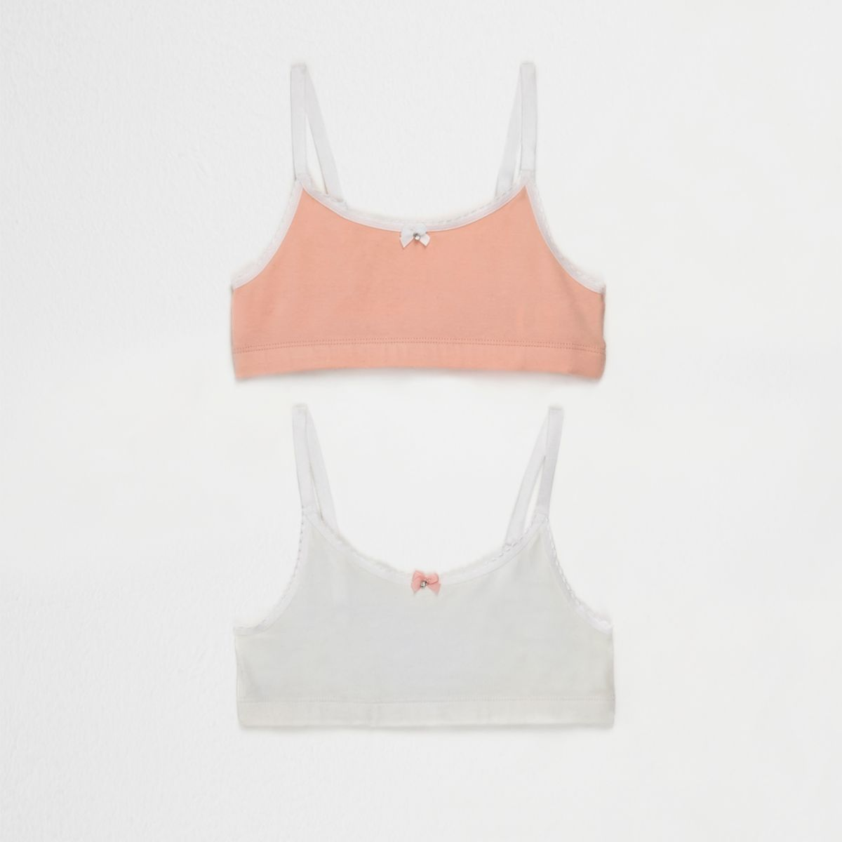 Girls crop top two pack