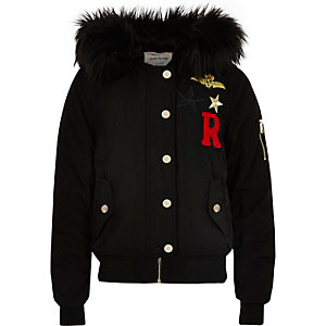 Girls Coats &amp Jackets - Girls Winter Coats - River Island
