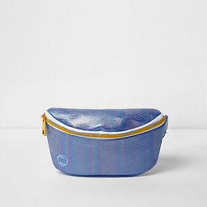 Girls blue Mi-Pac iridescent mermaid bum bag