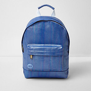 Girls blue Mi-Pac iridescent mermaid backpack
