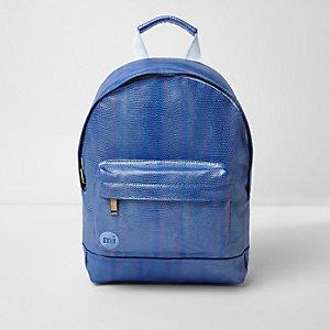 Girls blue Mi-Pac iridescent mermaid backpack