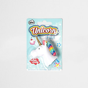 Girls unicorn scented lip balm