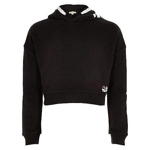 Girls RI Active black 'Dance' sports hoodie