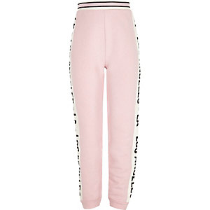 Pantalon de jogging LA rose pour fille