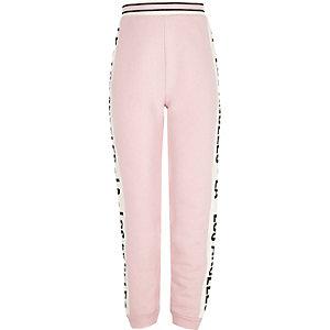 Pantalon de jogging LA rose pour fille