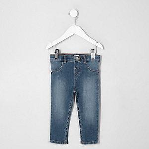 Mini - Molly blauwe vervaagde skinny jeans voor meisjes