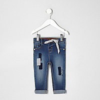 Mini girls patch Amelie skinny jeans