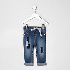 Mini - Amelie skinny jeans met patches voor meisjes