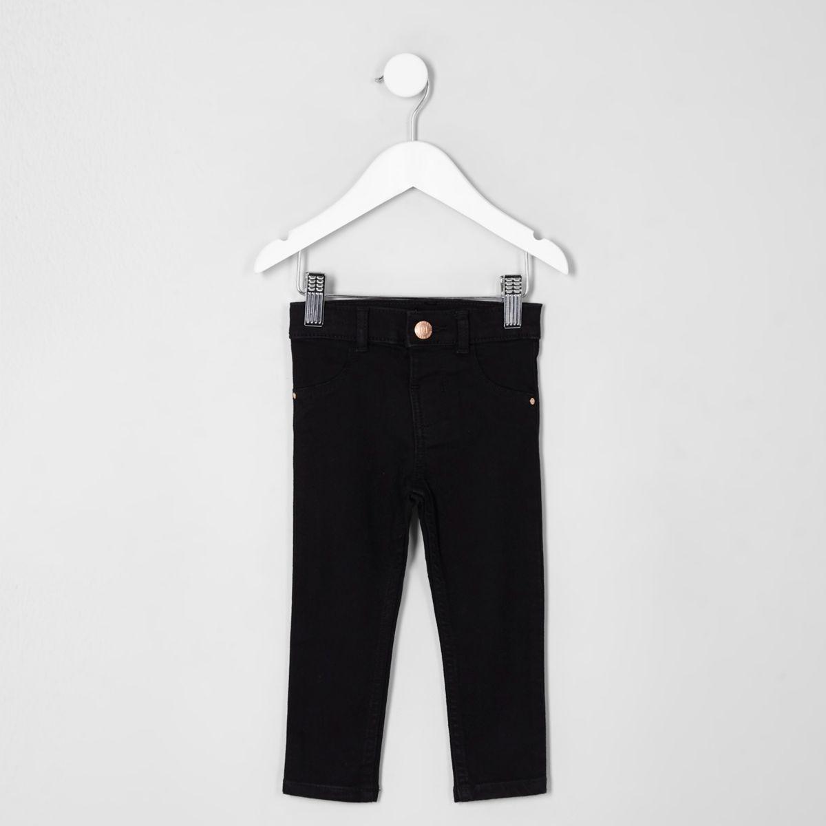 Molly – Schwarze Skinny Jeans