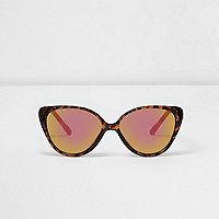 Mini girls brown tortoiseshell sunglasses