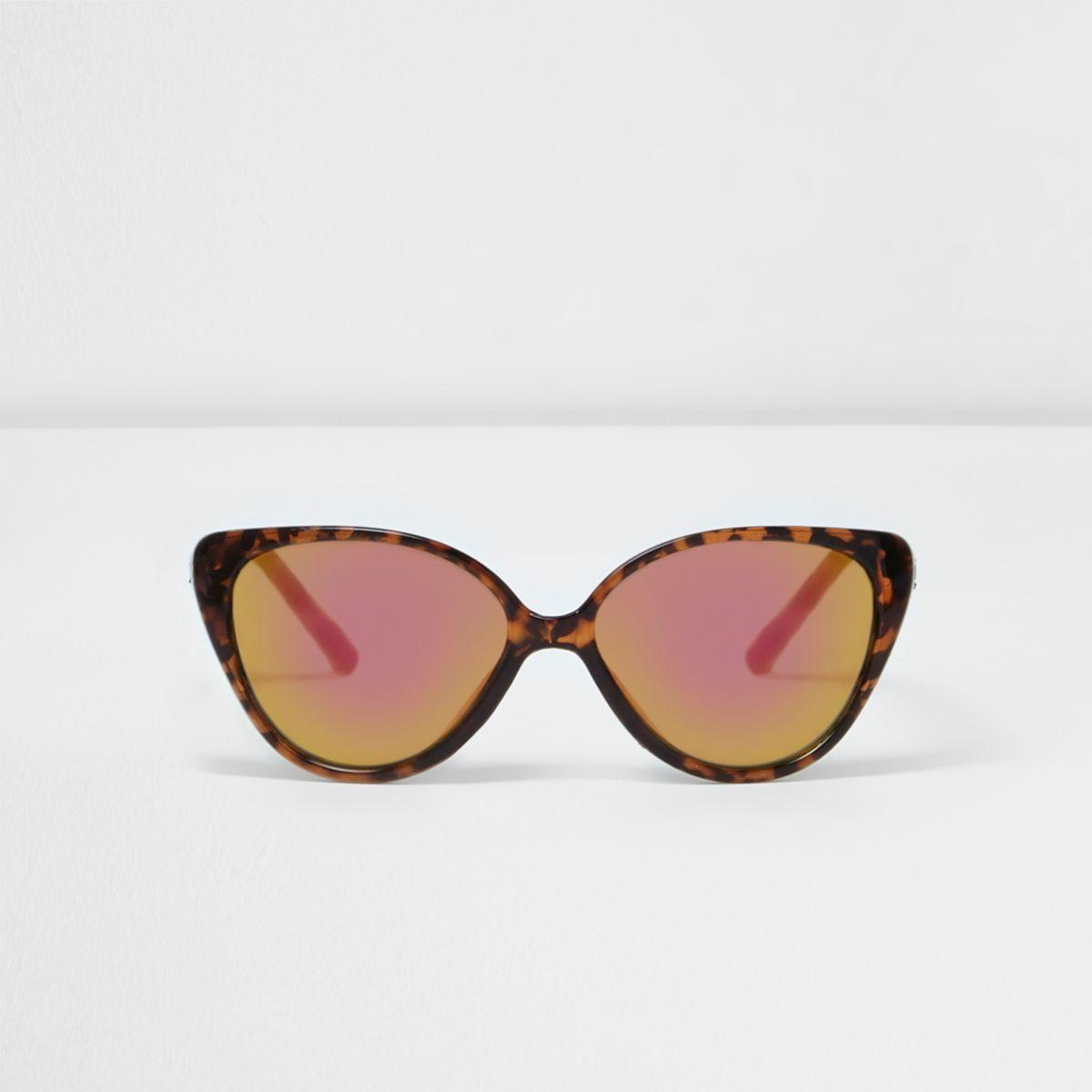 Mini girls brown tortoiseshell sunglasses