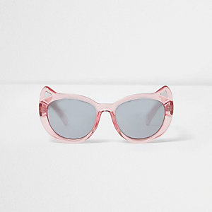 Mini girls pink kitty sunglasses