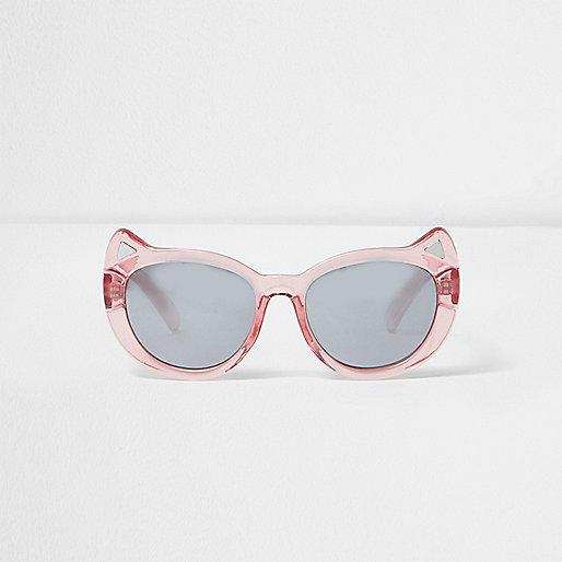 Mini girls pink kitty sunglasses