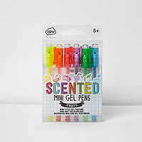 Girls fruity scented mini gel pens