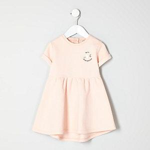 Robe pull imprimé Heartbreaker mini fille