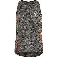 Girls RI Active grey 'Dance' gym vest
