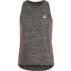 Girls RI Active grey 'Dance' gym vest