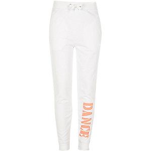 Pantalon de jogging RI Active blanc de danse pour fille