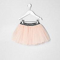 Mini girls pink tutu skirt