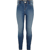 Molly – Jeggings in mittelblauer Waschung
