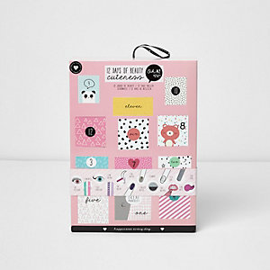Girls Oh K Pink beauty advent calender