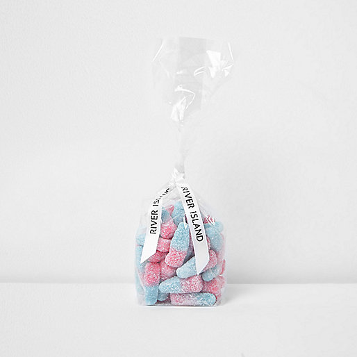Girls pink and blue bottle sweets