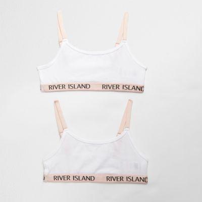 Set contrasterende cami crop tops voor meisjes